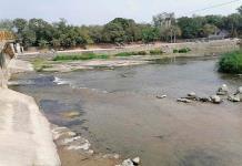 Río Valles llega a su nivel crítico