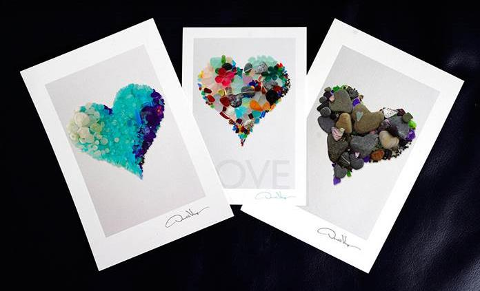 Arte de corazón da amor y esperanza en medio de la pandemia