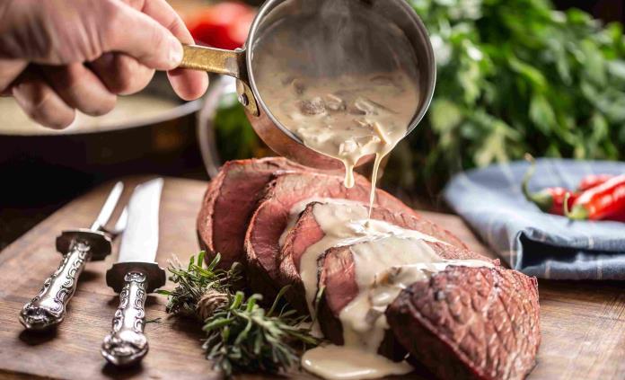 Para la cena de San Valentín, el chef Mikel Alonso comparte una recta de filete Angus