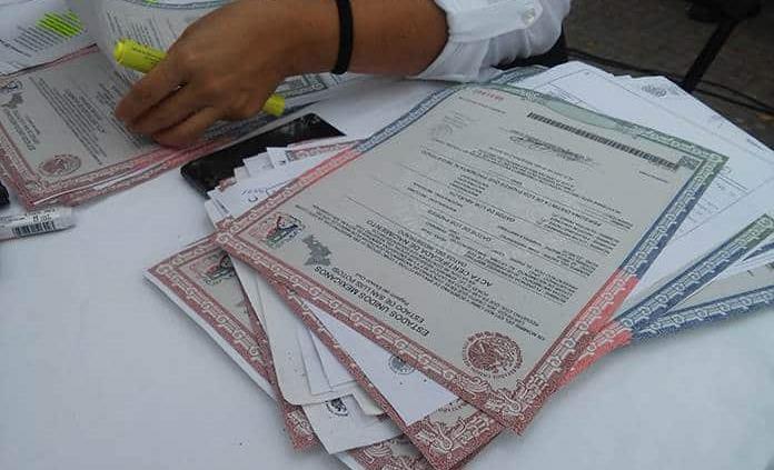 Se incrementa la demanda de actas en Registro Civil