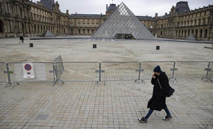 Francia, el país de la cultura lleva más cien días sin museos