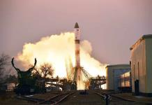Una nave rusa de carga sale hacia la Estación Espacial
