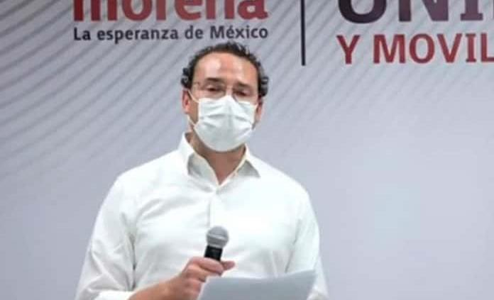 Xavier Nava precandidato en la capital... por Morena