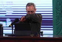 López-Gatell registra oxigenación de 97%, su evolución es favorable: Alomía