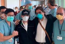 Toño Mauri vuelve a Instagram tras sobrevivir al covid y trasplante doble de pulmón