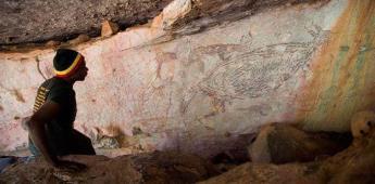 La figura de un canguro es la pintura rupestre más antigua de Australia