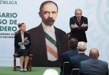 AMLO y presidente de Argentina encabezan ceremonia por aniversario luctuoso de Francisco I. Madero