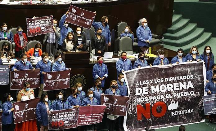 Diputados avala reforma eléctrica de AMLO en lo general