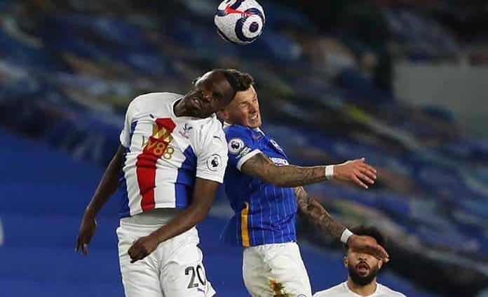 Con tardío gol, el Crystal vence por 2-1 al Brighton