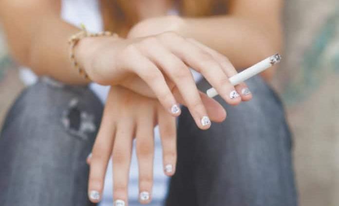 Fumar en la adolescencia