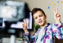 Niños que anhelan ser youtubers