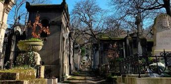 Sin museos, los parisinos redescubren sus famosos cementerios