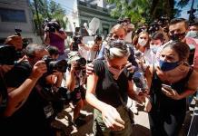 Dos hijas de Maradona declaran por la muerte de su padre