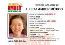 Buscan a Lucía de 5 años en Monterrey