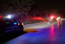 Hombre muere arrollado por vehículo no identificado