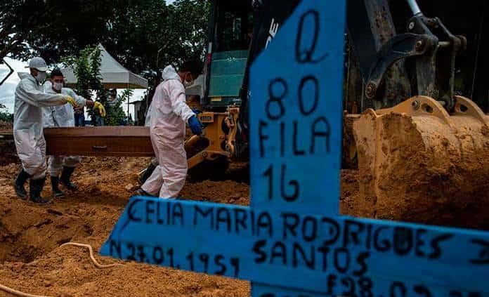 Brasil supera los once millones de casos confirmados por covid-19