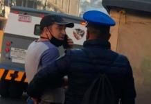 Detienen a hombre que enfurece por rodaje de Iñárritu en la CDMX