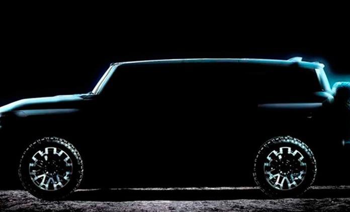 GM lanzará el 3 de abril el GMC Hummer EV, la camioneta pickup eléctrica