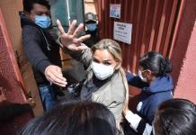 Áñez dice que es prisionera política en Bolivia tras 87 días de su arresto