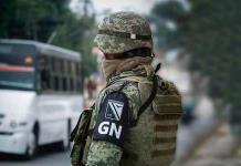 Guardia Nacional rescata a 33 migrantes hondureños en Nuevo León