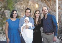 Ferrán recibe el bautismo