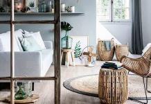 Muebles de fibras naturales
