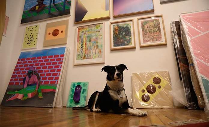 Casa Equis, una galería sin pretensiones que alberga arte emergente en CDMX