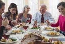 Cocinar y comer en familia