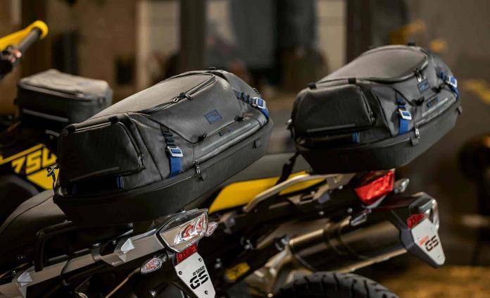 Soluciones de equipaje para viajar en una BMW Motorrad