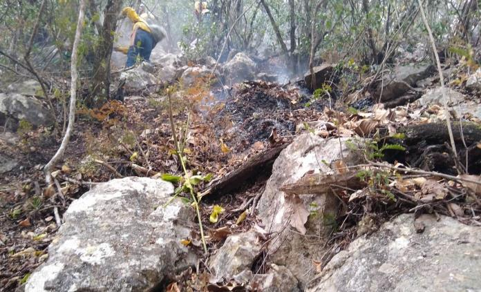 En tres días se queman casi 34 hectáreas en la sierra de Tamasopo