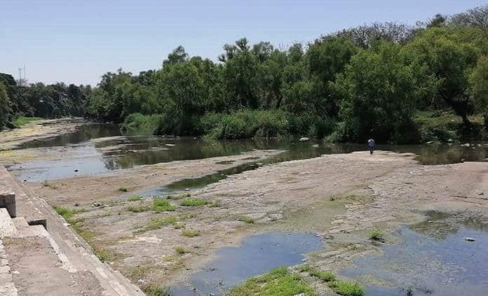Se seca el río Valles