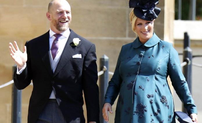 Zara Tindall, nieta de la reina Isabel II, da a luz en casa