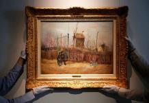 Subastan por 13 millones de euros un desconocido cuadro de Van Gogh
