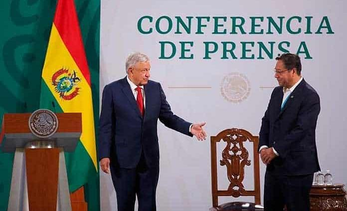 Presidente de Bolivia respaldará a López Obrador en batalla contra la OEA