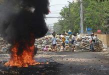Más de 600 civiles han muerto a manos de la junta militar birmana