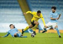Manchester City gana 2-1 al Dortmund y toma ventaja en cuartos de Champions