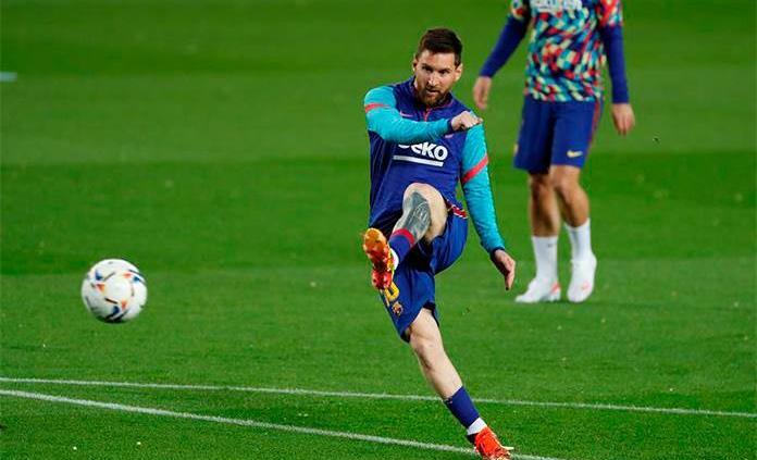Messi manda en las estadísticas de la liga española a las puertas del clásico
