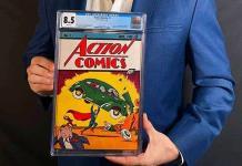 Cómic de Superman se vende por 3.25 millones de dólares