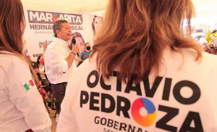 Mujeres del PRI ofrecen apoyo a Octavio Pedroza