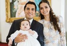 Jorge Andrés recibe el bautismo