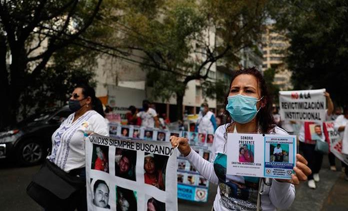 Familiares de desaparecidos en México piden que se atiendan sus necesidades