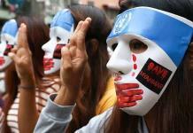 Brutal ataque de las fuerzas birmanas a pueblo opositor