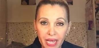 Aida Pierce dice que su hijo está detenido por vacunarse disfrazado