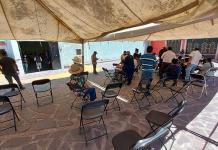 Tranquila, jornada de vacunación en Mexquitic