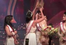Detienen a la reina de belleza que arrancó la corona a Mrs Sri Lanka 2021