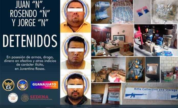 Cae director de Tránsito de Juventino Rosas y varias personas por el asesinato de un diputado
