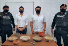 Recuperan en Yucatán piezas arqueológicas que serían vendidas