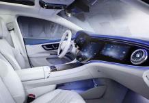 La hiperpantalla de Mercedes, el tablero completo