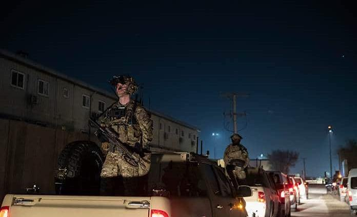 EEUU enviará tropas a Kabul para evacuar a personal de su embajada