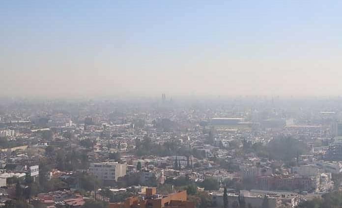 Reportan mala calidad del aire en zona metropolitana